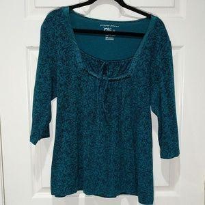 JMS peasant shirt size 2x 18w/20w